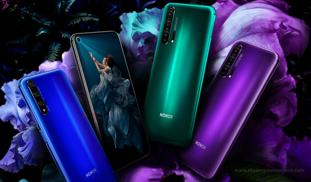 Honor 20 and Honor V20