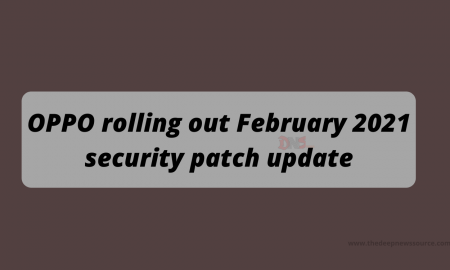 OPPO February 2021 security patch update