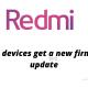 Redmi firmware update