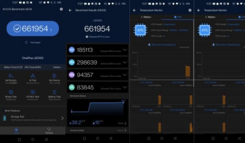 OnePlus 9 Pro AnTuTu Score