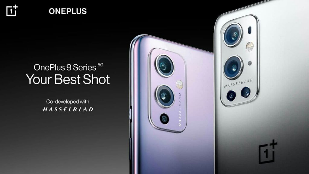 OnePlus 9 series official poster