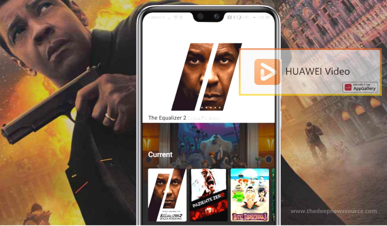 Huawei Video App
