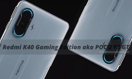 Redmi K40 Gaming Edition aka POCO F3 GT
