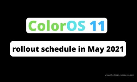 ColorOS 11 May 2021