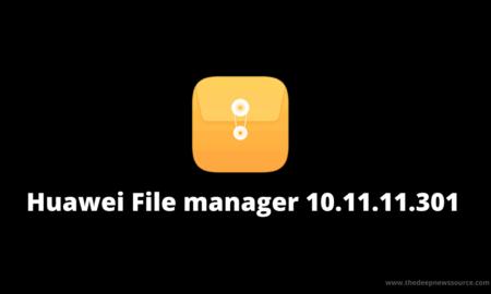 Huawei File manager