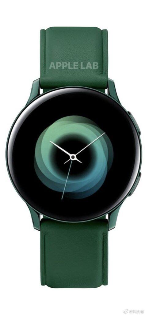 Galaxy Watch Active 4 render