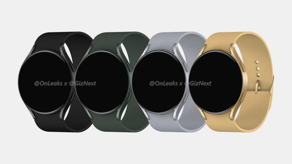 Galaxy Watch Active 4 first render