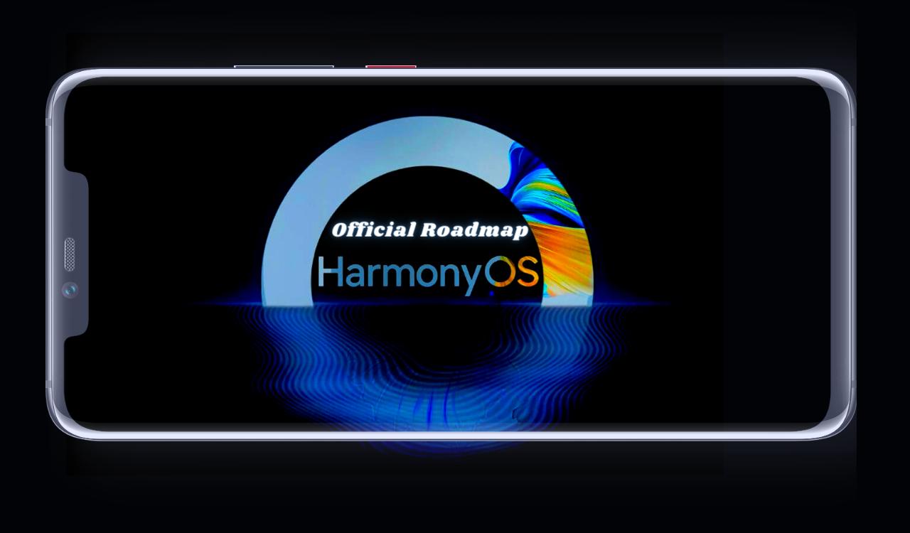 HarmonyOS 2.0 official roadmap