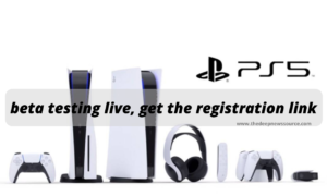 Sony PS5 beta testing