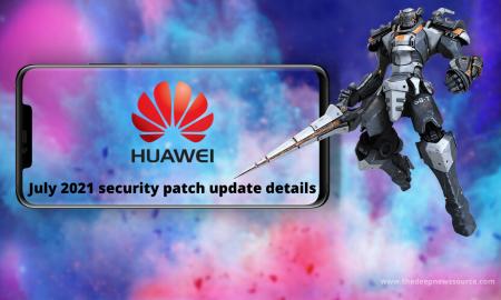 Huawei July 2021 security