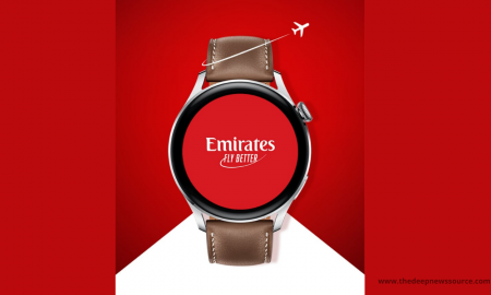 Emirates app for Huawei Watch 3 series