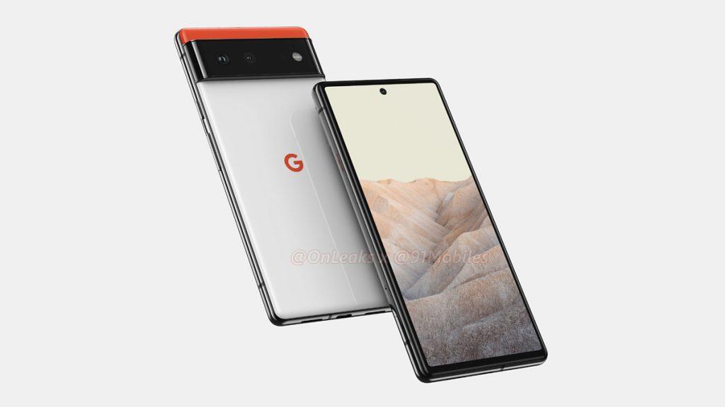 Google Pixel 6 series renders