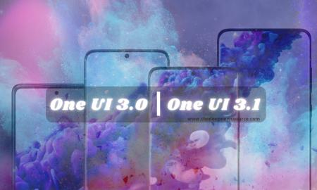One UI 3.0 and UI 3.1