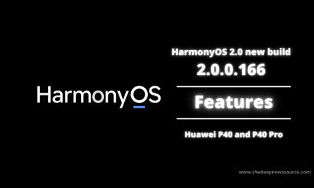 HarmonyOS 2.0 new build 2.0.0.166