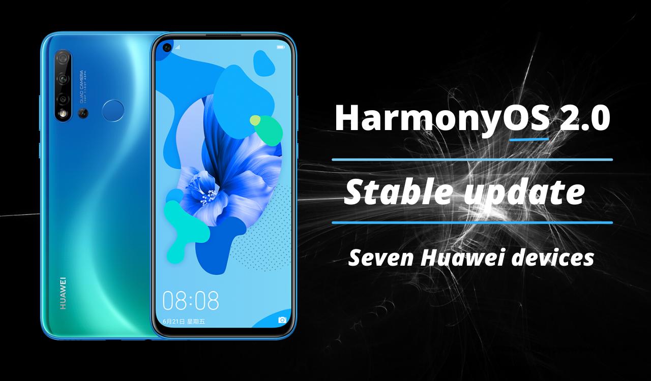 HarmonyOS 2.0 Stable update