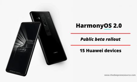 HarmonyOS 2.0 public beta