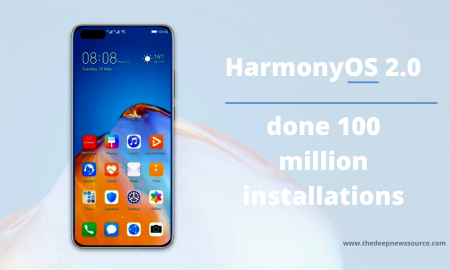 HarmonyOS done 100 million installations