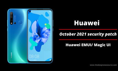 Huawei October 2021 security patch