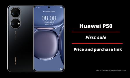 Huawei P50 on Sale