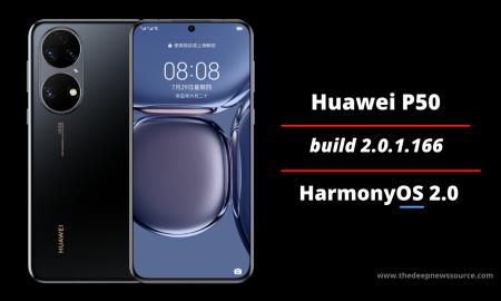 Huawei P50 2.0.1.166